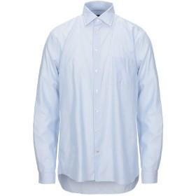 《セール開催中》SEVENTY SERGIO TEGON メンズ シャツ スカイブルー 43 コットン 100%