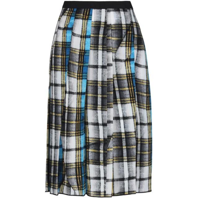 《セール開催中》MARC JACOBS レディース 7分丈スカート ブラック 4 シルク 100% / ポリエステル / レーヨン
