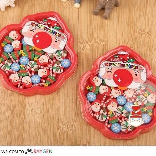 創意聖誕節造型迷你橡皮擦 禮品