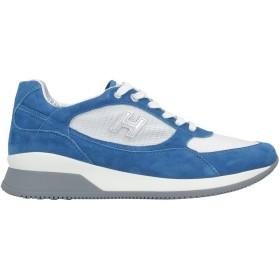 《セール開催中》HOGAN レディース スニーカー&テニスシューズ(ローカット) アジュールブルー 35 革 / 紡績繊維