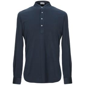 《セール開催中》S. MORITZ メンズ T シャツ ダークブルー 50 コットン 100%