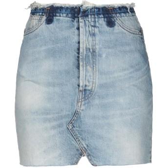 《セール開催中》VICOLO レディース ミニスカート ブルー XS コットン 100%
