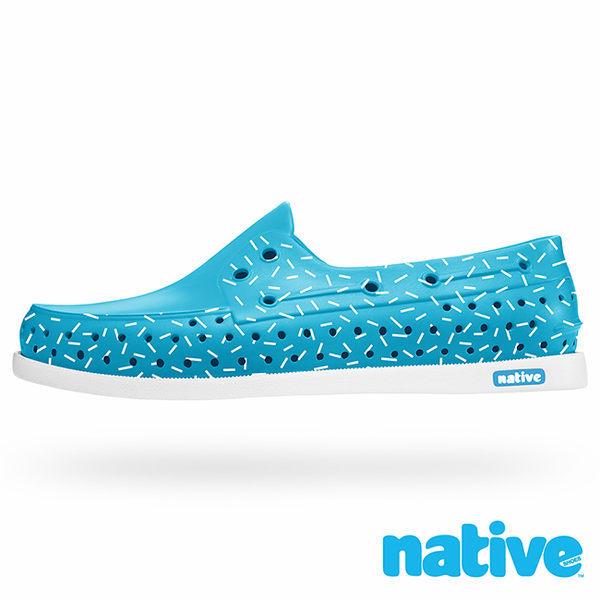 特價5折!! Native|HOWARD 11101101-8016 帆船鞋系列 休閒鞋 / 晴雨鞋 (藍x巧克力米)