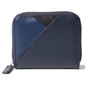 (COMME CA ISM/コムサイズム)2つ折り財布/レディース ネイビー