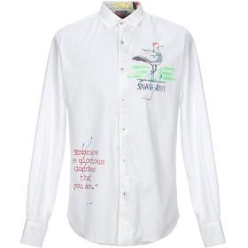《セール開催中》KOON メンズ シャツ ホワイト L コットン 100%