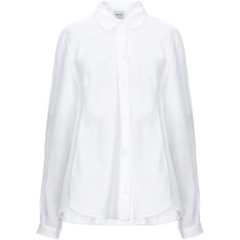 《セール開催中》ASPESI レディース シャツ ホワイト 42 麻 100%