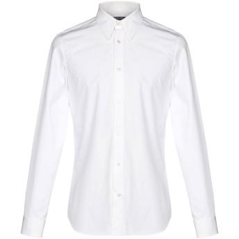 《セール開催中》CALVIN KLEIN 205W39NYC メンズ シャツ ホワイト 37 コットン 100%