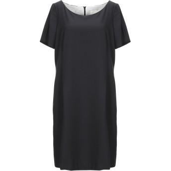 《セール開催中》BOTTEGA MARTINESE レディース ミニワンピース&ドレス ブラック 46 ポリエステル 86% / ポリウレタン 14%