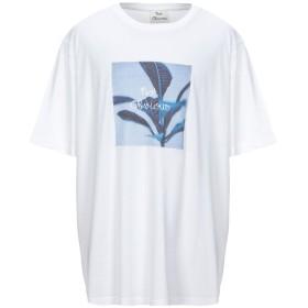《セール開催中》OBVIOUS BASIC メンズ T シャツ ホワイト XXL コットン 100%