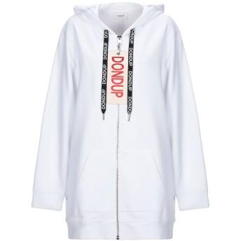《セール開催中》DONDUP レディース スウェットシャツ ホワイト M コットン 100%
