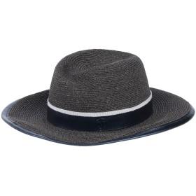 《セール開催中》MAISON MICHEL レディース 帽子 スチールグレー S 指定外繊維(ヘンプ) 100%