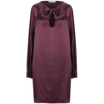 《セール開催中》L' AUTRE CHOSE レディース ミニワンピース&ドレス ディープパープル 40 シルク 100%