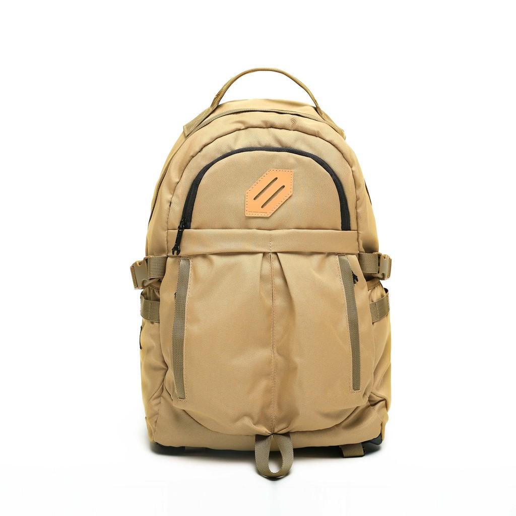 RITE 時尚潮流 U03陸軍後背包-沙色 軍感包 登山包 多功能包 機能 內附小側背包 可放15寸筆電
