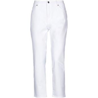 《セール開催中》ESCADA レディース パンツ ホワイト 42 コットン 95% / ポリウレタン 5%