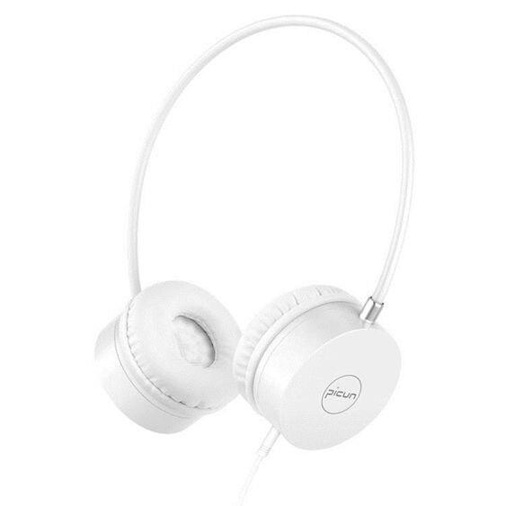C20耳機頭戴式女生韓版可愛少女心萌款時尚有線帶麥K歌音樂重低  全館免運