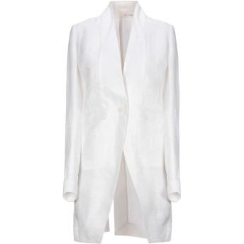 《セール開催中》ISABEL BENENATO レディース テーラードジャケット ホワイト 40 麻 58% / シルク 42%