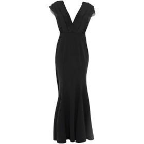 《セール開催中》LIPSY レディース ロングワンピース&ドレス ブラック 8 ポリエステル 97% / ポリウレタン 3%
