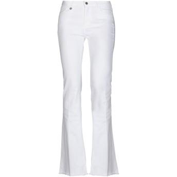 《セール開催中》,MERCI レディース パンツ ホワイト 32 98% コットン 2% ポリウレタン