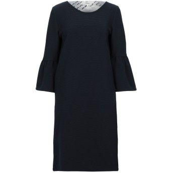 《セール開催中》GARCIA レディース ミニワンピース&ドレス ダークブルー XS コットン 60% / ポリエステル 39% / ポリウレタン 1%