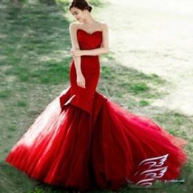 激安販売!二枚送料無料!ウエディングドレスparty dress☆ロングドレス【結婚式】【二次会】【パーティー】 エンパイアドレス編み上げ