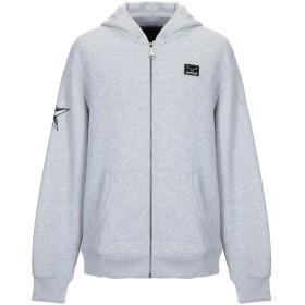《セール開催中》PHILIPP PLEIN メンズ スウェットシャツ グレー 3XL ポリエステル 100%
