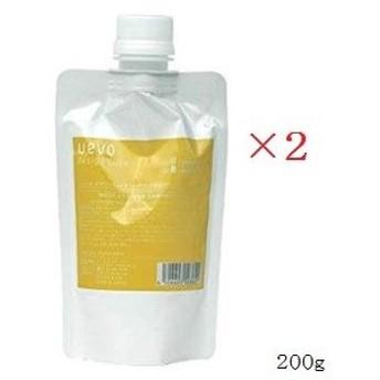 (×2セット)DEMI デミ ウェーボ デザインキューブ ハードワックス  200g レフィル 詰替用