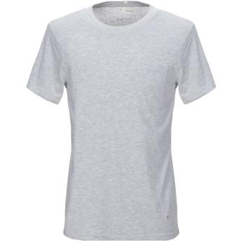 《セール開催中》(+) PEOPLE メンズ T シャツ ライトグレー M コットン 100%