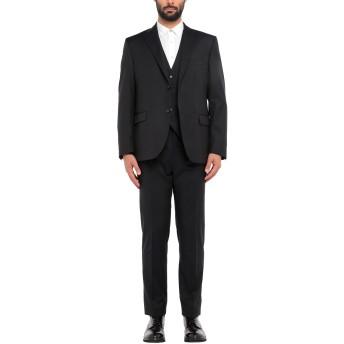 《セール開催中》CC COLLECTION CORNELIANI メンズ スーツ ブラック 54 バージンウール 100%