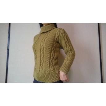 手編みのセーター#8