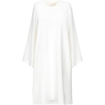 《セール開催中》VICOLO レディース ミニワンピース&ドレス ホワイト one size コットン 100%