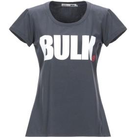 《セール開催中》BULK レディース T シャツ スチールグレー L コットン 100%