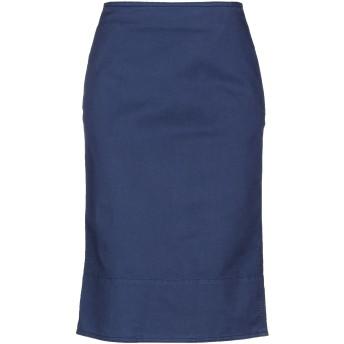 《セール開催中》SIVIGLIA レディース 7分丈スカート ブルー 24 コットン 68% / テンセル 30% / ポリウレタン 2%