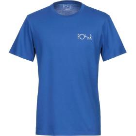 《セール開催中》POLAR メンズ T シャツ ブルー XL コットン 100%