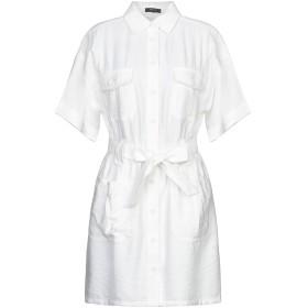 《セール開催中》FRNCH レディース ミニワンピース&ドレス ホワイト M/L レーヨン 75% / ナイロン 25%