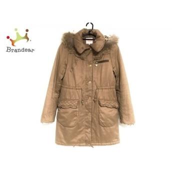 ミニマム MINIMUM コート サイズ2 M レディース ブラウン ファー/冬物   スペシャル特価 20200229