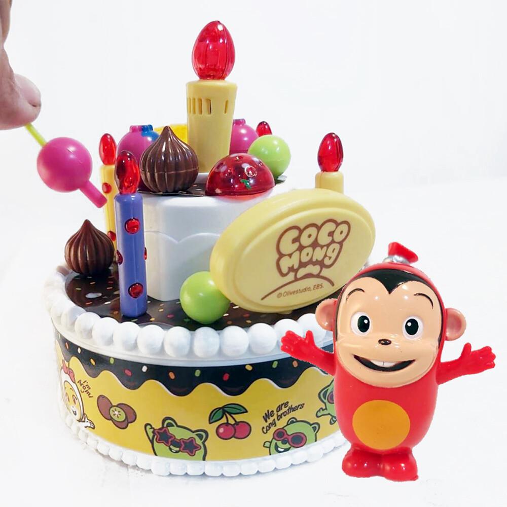 gct玩具嚴選cocomong生日蛋糕 韓國正品