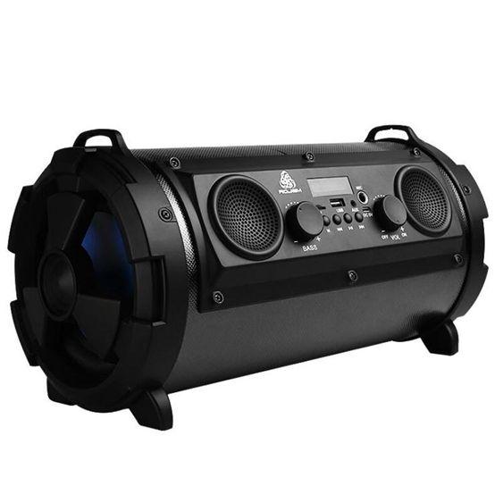 德國進口大功率戶外便攜式藍芽音箱重低音炮插卡無線電腦K歌音響  全館免運