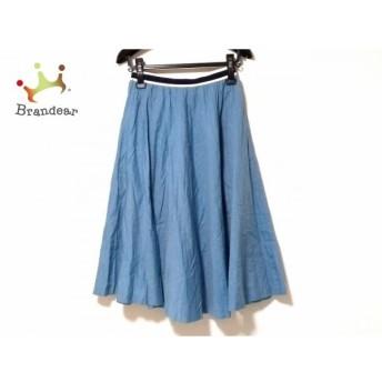 サクラ SACRA スカート サイズ38 M レディース ライトブルー   スペシャル特価 20200213