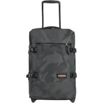 《セール開催中》EASTPAK Unisex キャスター付きバッグ ダークグリーン ポリエステル 100%