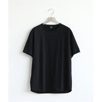 エディフィス Triporous ショートスリーブ Tシャツ メンズ ブラック S 【EDIFICE】