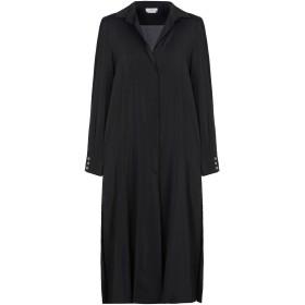 《セール開催中》BALLANTYNE レディース 7分丈ワンピース・ドレス ブラック 38 シルク 91% / ポリウレタン 9%