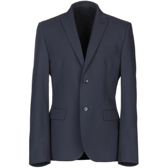 《セール開催中》DANIELE ALESSANDRINI メンズ テーラードジャケット ダークブルー 52 コットン 100%