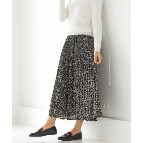 ハニーズ プリーツスカート レディース ブラック L 【Honeys】