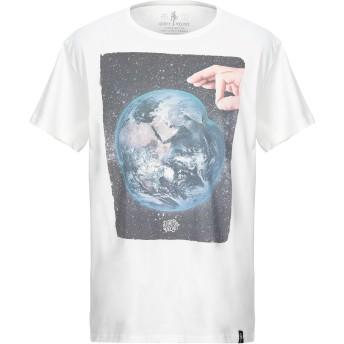 《セール開催中》DIRTY VELVET メンズ T シャツ ホワイト S オーガニックコットン 100%
