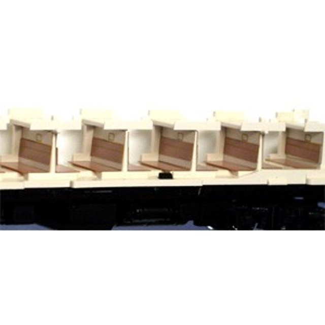 エヌ小屋 (N) No.10611 KATO製 B寝台座席表現シール 青(3輌分) エヌゴヤ 10611【返品種別B】