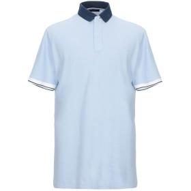 《セール開催中》GRAN SASSO メンズ ポロシャツ スカイブルー 52 コットン 100%