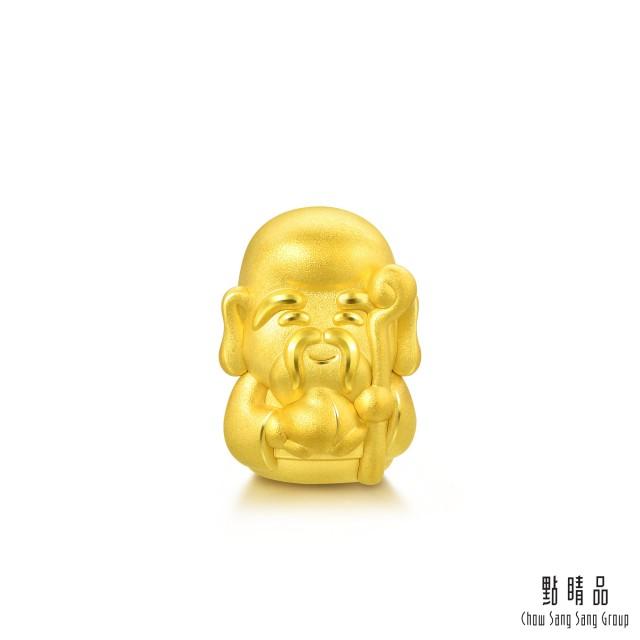 點睛品 Charme 福祿壽-壽神 黃金串珠