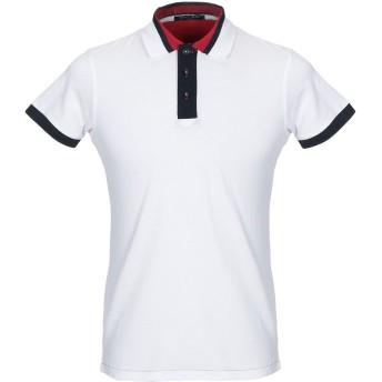《セール開催中》HISTORIC メンズ ポロシャツ ホワイト L コットン 100%