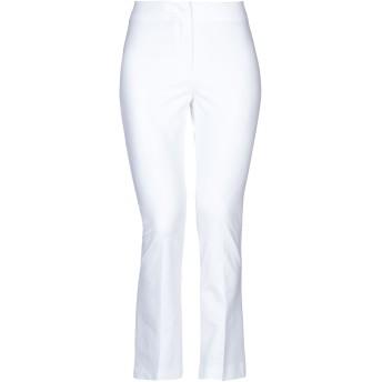 《セール開催中》QL2 QUELLEDUE レディース パンツ ホワイト 42 コットン 95% / ポリウレタン 5%