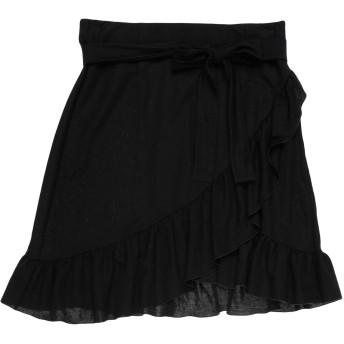 《セール開催中》PATRIZIA PEPE レディース ひざ丈スカート ブラック 40 レーヨン 55% / アセテート 45%